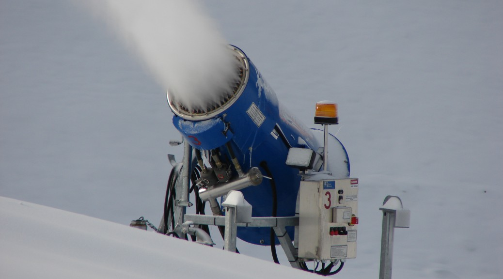 snow making page